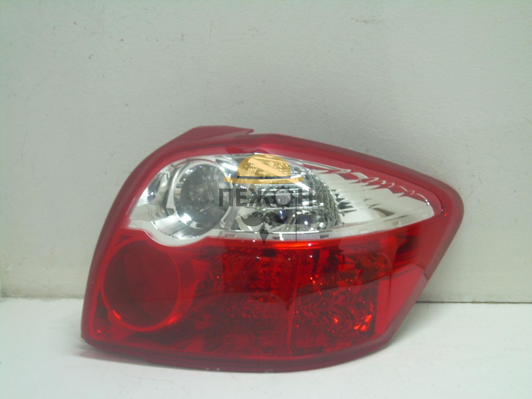 Задние фонари (задняя оптика) Тойота Аурис: купить фонарь ...